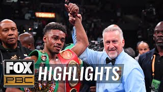 Errol Spence Jr. breaks down his title fight victory over Shawn Porter | HIGHLIGHTS | PBC ON FOX
