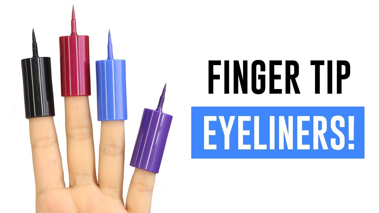 FINGER TIP EYELINERS! DO THEY WORK?