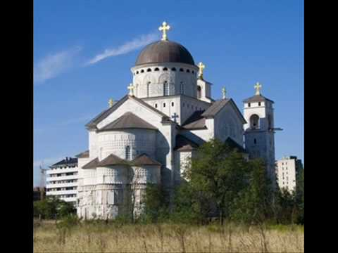 orthodox cathedral... Podgorica, Montenegro (Southeastern Europe)
