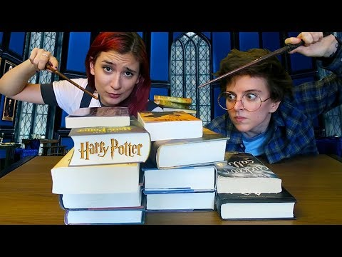 Harry Potter Book Challenge ft. Brizzy Voices