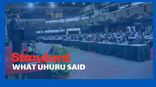 President Kenyatta\'s opening address during COVID-19 Conference