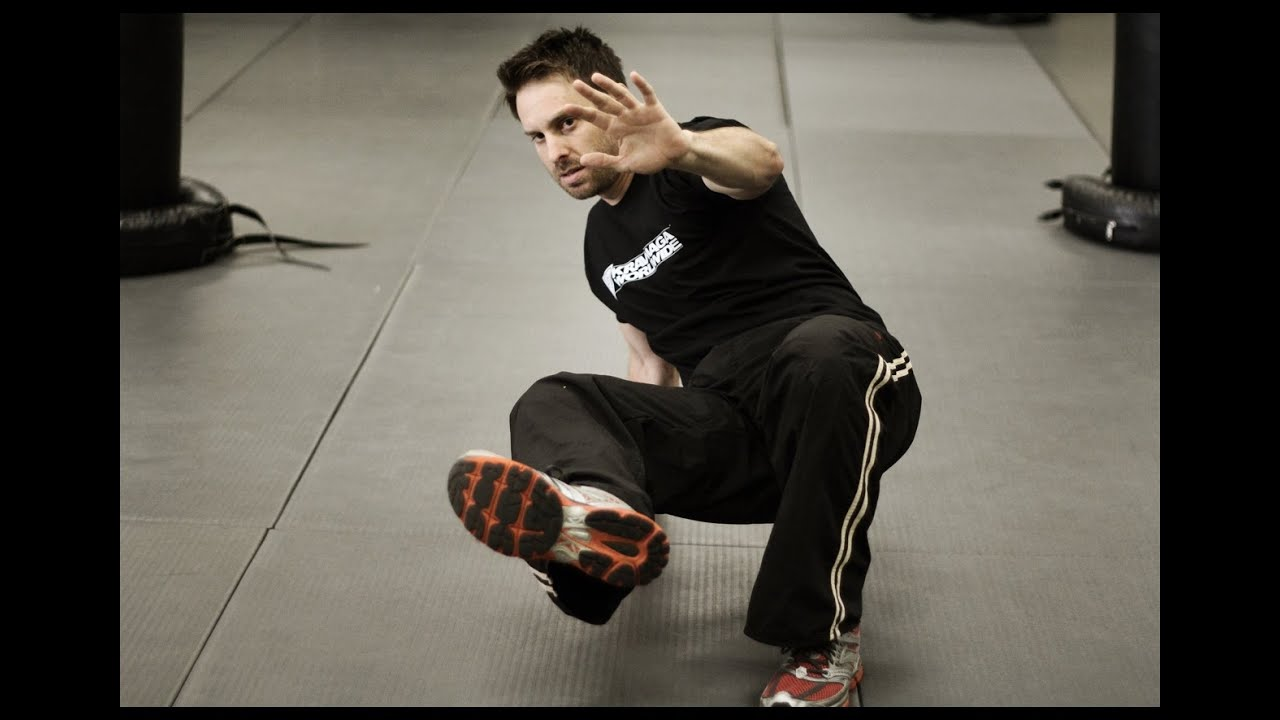 Get Up Off The Ground Self Defense Training W Aj Draven