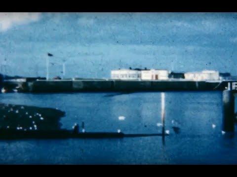 1960's 8mm Cine Film: Ramsey Harbour, Promenade  Isle of Man, possibly Radio Caroline