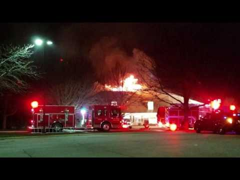 Fire in South Elgin, IL at Kindercare