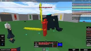 Roblox BYM Mech Phoenix VS Knifehead