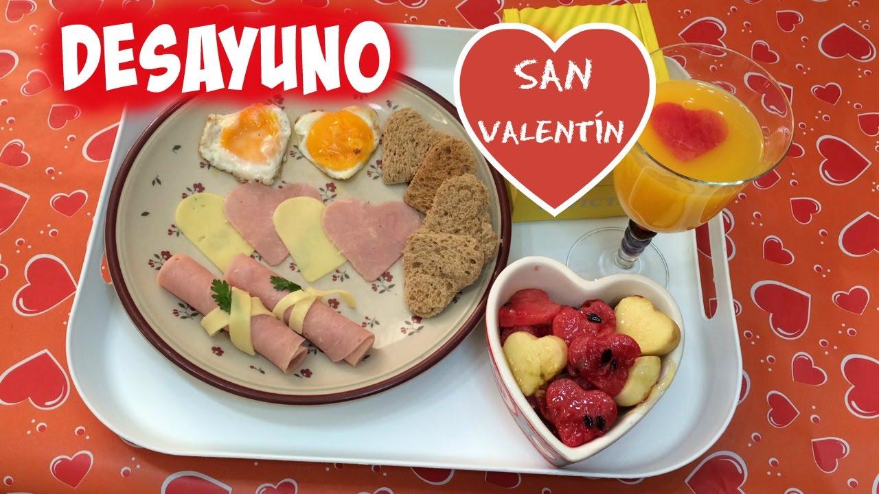 Desayuno para san valentin 2 ideas de regalos para el - Preparar desayuno romantico ...
