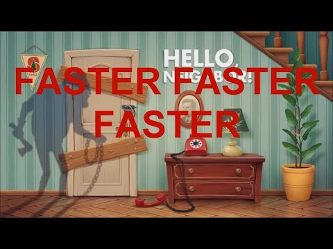 The Hello Neighbor Chased Theme But It Gets Faster Every Time It Loops thumbnail