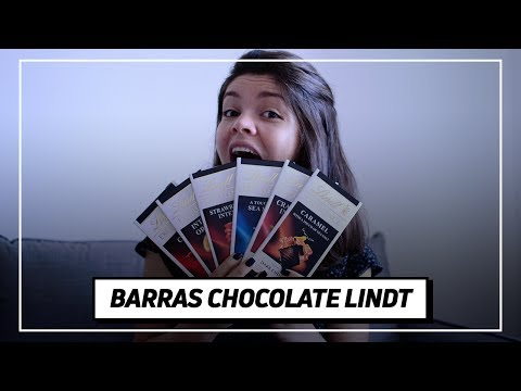 CHOCOLATES IMPORTADOS: ESPECIAL LINDT BARRAS EXCELLENCE | Testa pra Mim