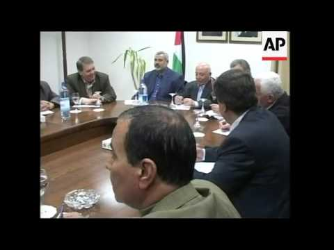 WRAP Hamas agrees with Fatah on naming Shabir as PM of Palestinian unity gov't