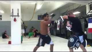 Muay Thai Pads with Jadyson Costa 2