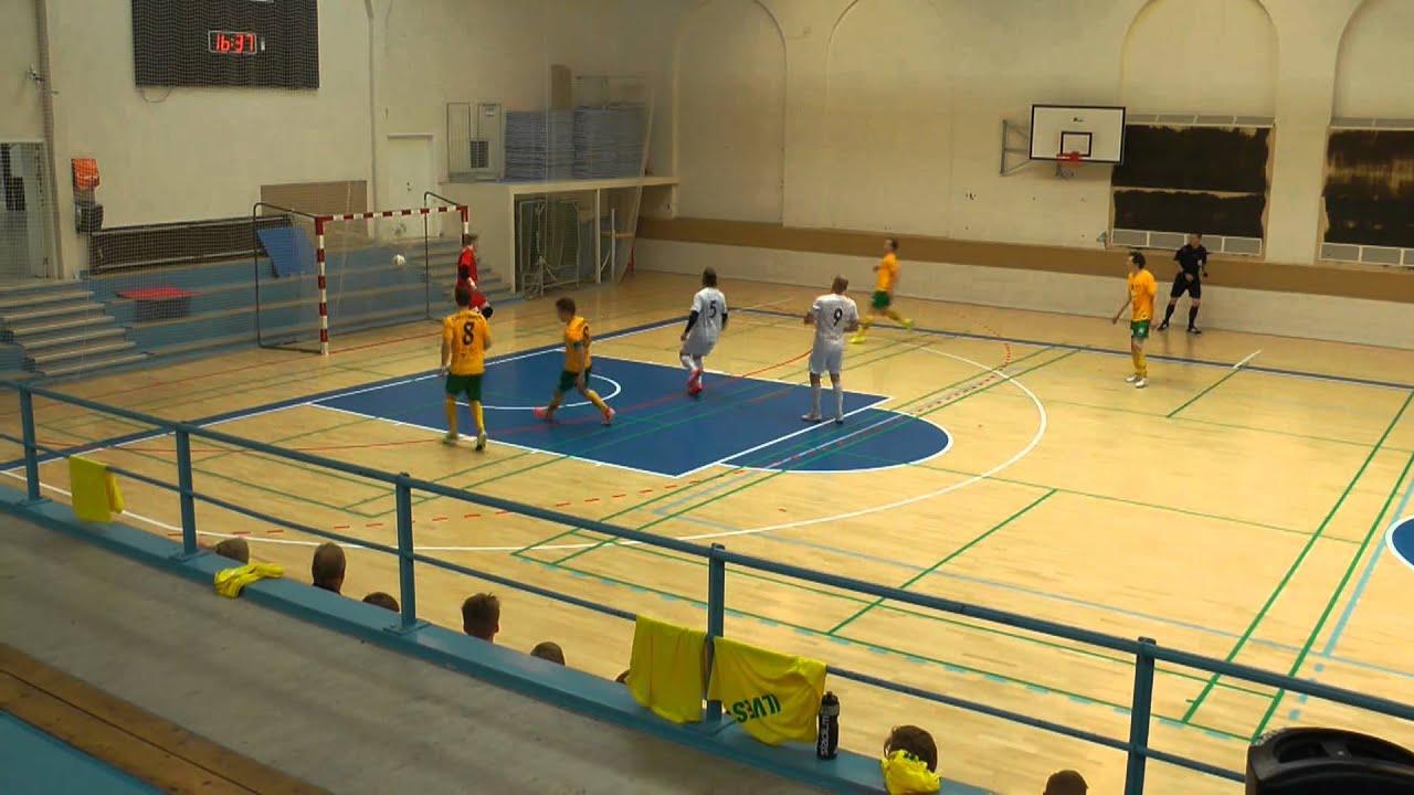 Ilves FS-Göteborg Futsal Club 3-3 (2-2) Nordic Champions Cup maalitkooste - YouTube