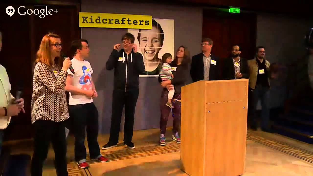 Kidcrafters UK at the Royal Institution London, 11th May 2014