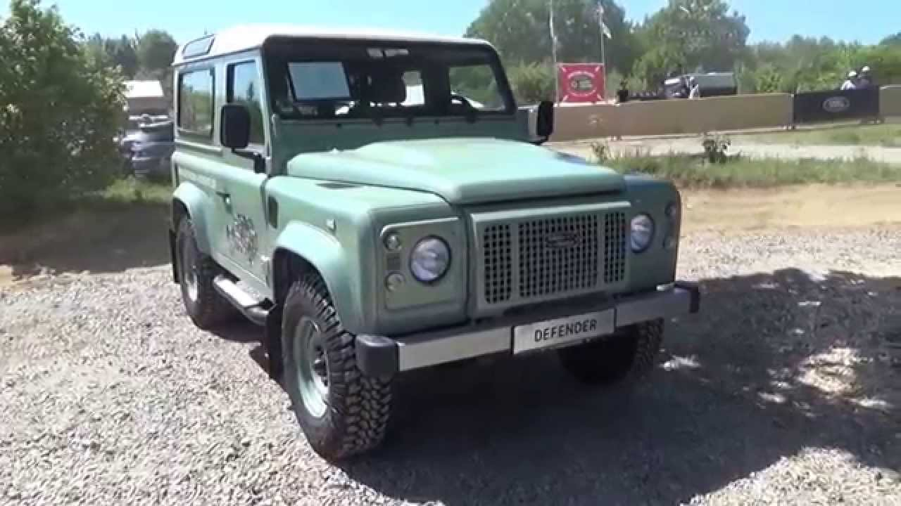 2015 - Land Rover Defender Heritage - Exterior and Interior ...
