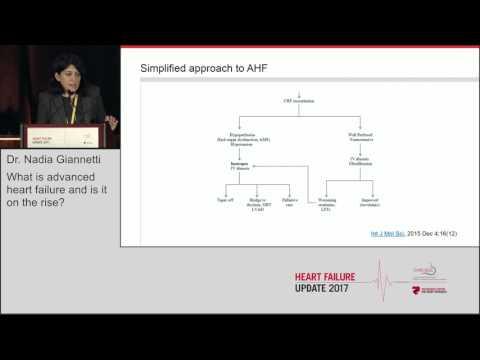 "Dr. Nadia Giannetti: "" The latest on acute heart failure"""