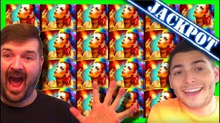 JACKPOT! HAND PAY! LIVE PLAY on Carnival of Mirrors Slot Machine with Bonus! HUGE WIN!!!!