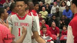 St. John's Captures 2016 WCAC championship with Win over DeMatha 2/22/2016