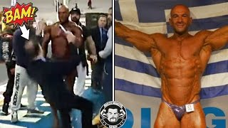 Bodybuilder Slaps a Judge and Pulls Out His Penis After Losing Competition