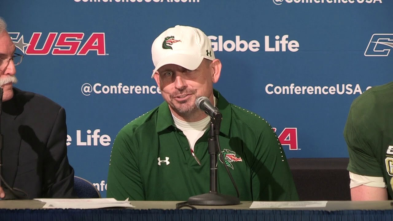 UAB Postgame Press Conference - 2018 Globe Life C-USA Football Championship