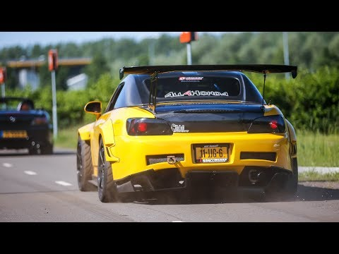 BEST OF JDM Tuner Car Sounds ! 700HP 2JZ Supra, Anti Lag Skyline, RX7, Lancer EVO,...