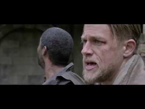 Download King Arthur: Legend of the Sword | escape & Arthur fight scene 1080p