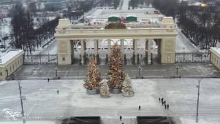 Смотреть видео 1 день в Москве онлайн
