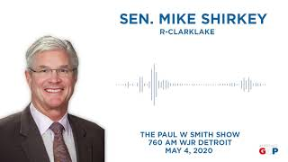 Sen. Shirkey joins the Paul W Smith Show to discuss extended orders
