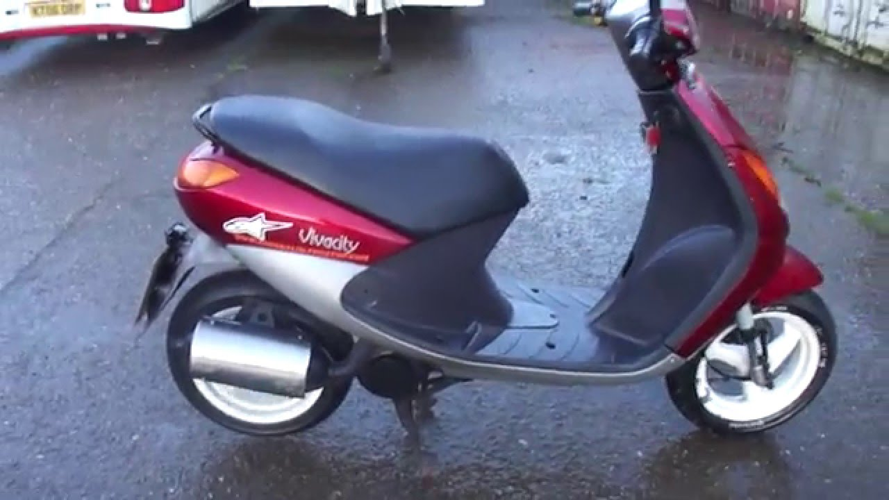 2000 peugeot vivacity 100 2t automatic scooter gc gwo. Black Bedroom Furniture Sets. Home Design Ideas
