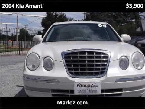 2004 kia amanti used cars high point nc youtube. Black Bedroom Furniture Sets. Home Design Ideas