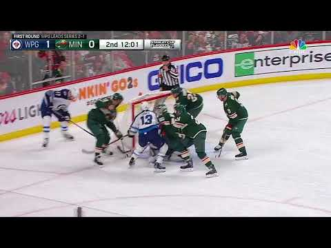 Winnipeg Jets vs Minnesota Wild - April 17, 2018 | Game Highlights | NHL 2017/18