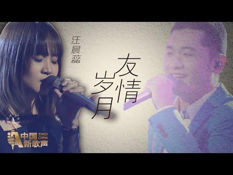 【选手片段】汪晨蕊《友情岁月》《中国新歌声》第11期 SING!CHINA EP.11 20160923 [浙江卫视官方超清1080P]