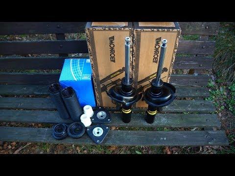 Замена передних амортизаторов, пружин, опорных подшипников Форд Фокус 2
