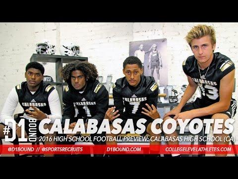 Calabasas 2016 HSFB Preview: Tristan Gebbia, Keyshawn Johnson Jr., Brendan Radley-Hiles, Jamal Tims