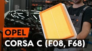 Montage OPEL CORSA C (F08, F68) Kühler Thermostat: kostenloses Video