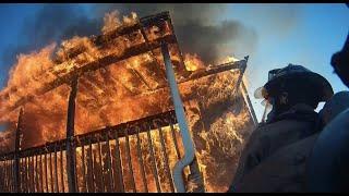 Helmet Cam - Interior Fire Attack (03/21/2021)