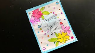 MOTHER'S DAY CARD | MOTHER'S DAY CRAFT | HOW TO MAKE A CARD | Crafts and kitchen | DIY CARD