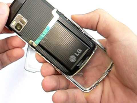 LG GD900 Crystal: design a konstrukce