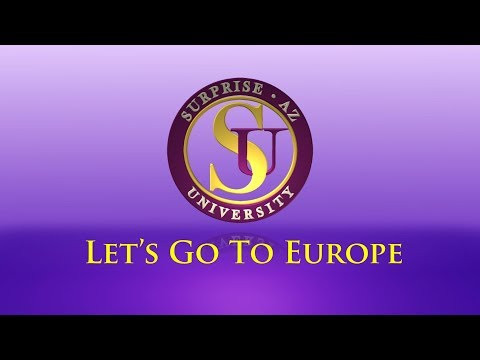 Surprise University - Let's Go to Europe video thumbnail