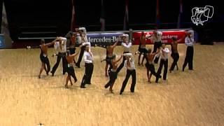 FG TSZ Aachen e.V./TD TSC Düsseldorf Rot-Weiß, GER   2014 World Formation Latin   DanceSport Total