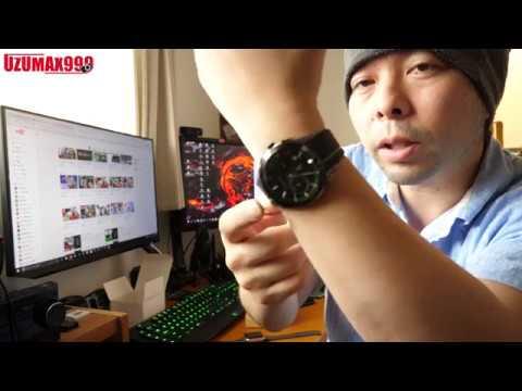 【腕時計】ベルトにカラーラインの入ったかっこいい時計「COMTEX」おしゃれ時計としては良い出来だと思うよ!