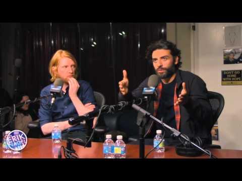 Oscar Isaac & Domhnall Gleeson talk 'Ex Machina' [04/17/2015]