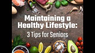 3 tips to maintain a healthy lifestyle after retirement
