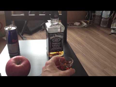 Whiskey shot & Red Bull before breakfast