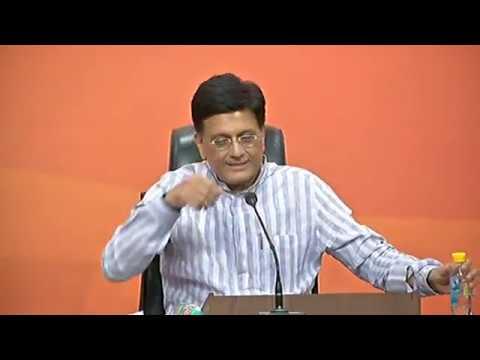 Press Conference by Shri Piyush Goyal: 08.10.2017