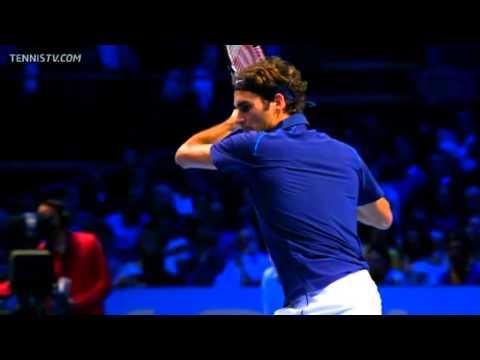 Federer en Arie Koning op het ABN Amro Tennis Tournament Rotterdam?