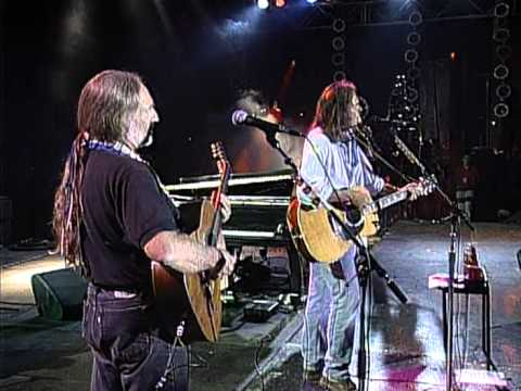 Neil Young with Willie Nelson  Four Strong Winds (Live at Farm Aid 1995)