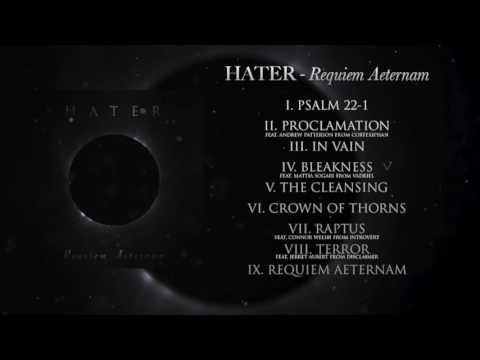 HATER - Requiem Aeternam [Full Stream] (2016) Chugcore Exclusive