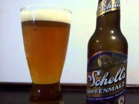 August Schell Hopfenmalz Beer Review