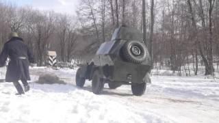 В Смоленске прошла реконструкция боя ВОВ