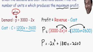 Optimization - Maximum Profit