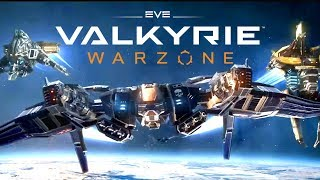 EPIC VR Space Ship DESTRUCTION! - EVE: Valkyrie Warzone VR - HTC Vive VR and PS4 Gameplay